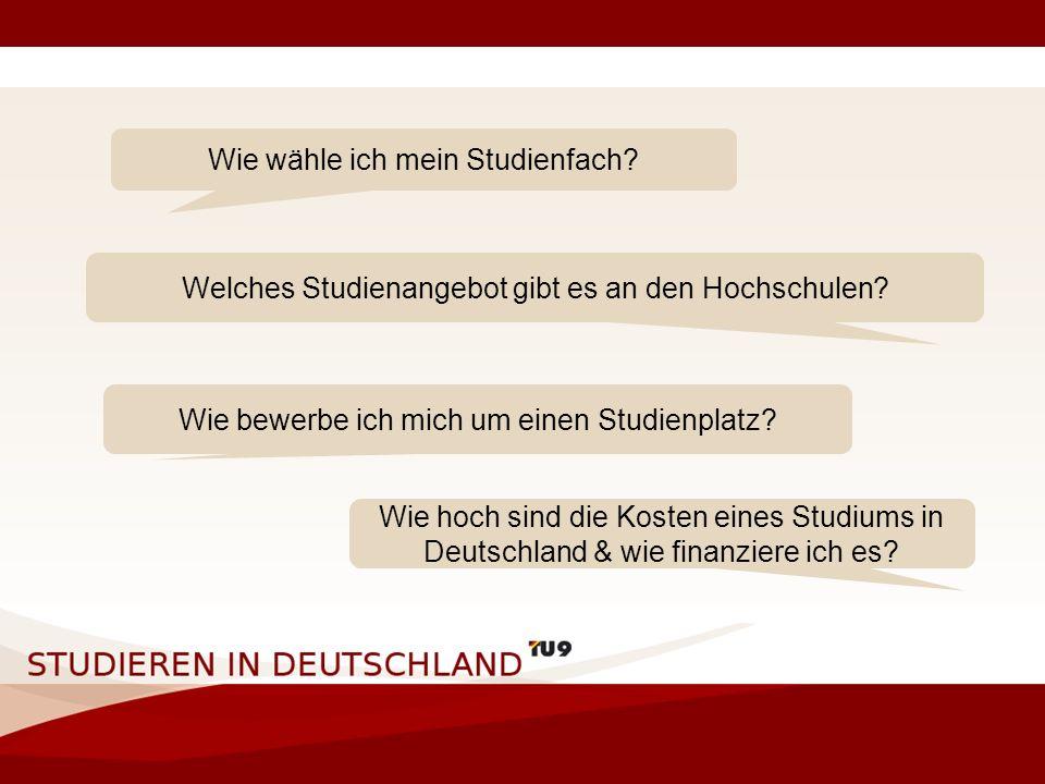 6 Es gibt in Deutschland über 300 Hochschulen Wie finde Ich die richtige? Deswegen unser Projekt