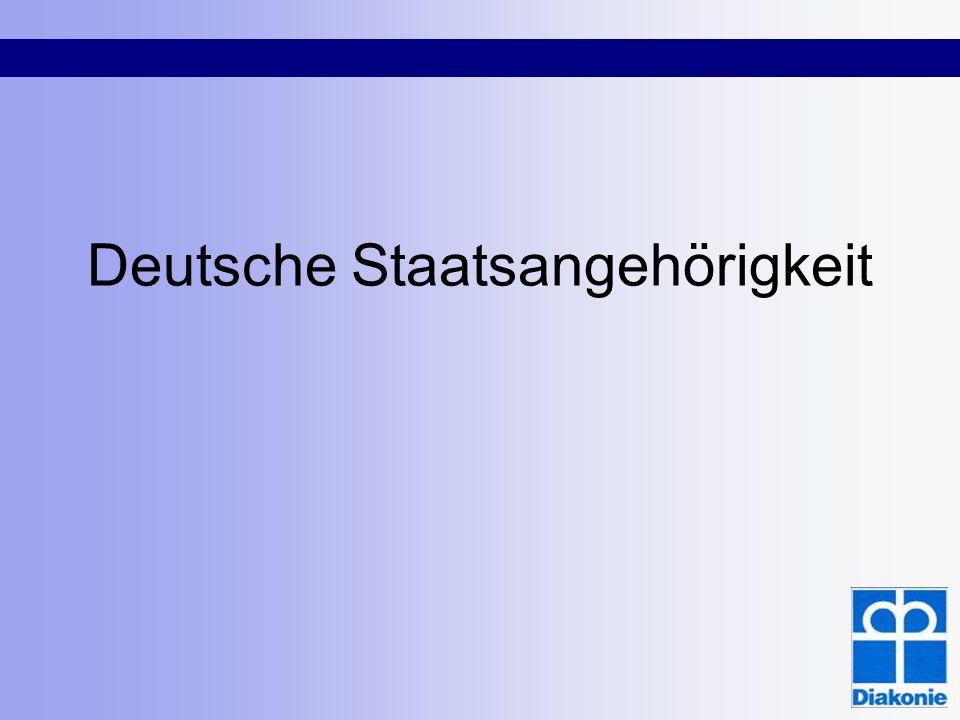 Humanitäre Aufenthalte Über Asylverfahren: - Asylberechtigte und anerkannte Flüchtlinge (§ 25 Abs.