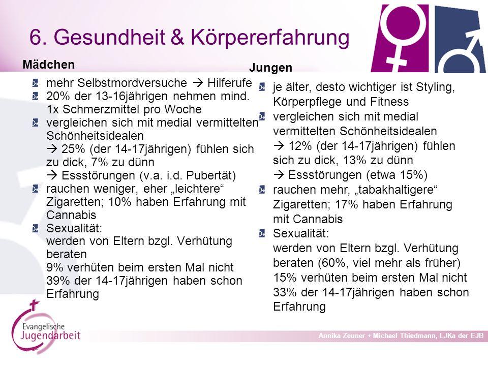 Annika Zeuner + Michael Thiedmann, LJKa der EJB 6.