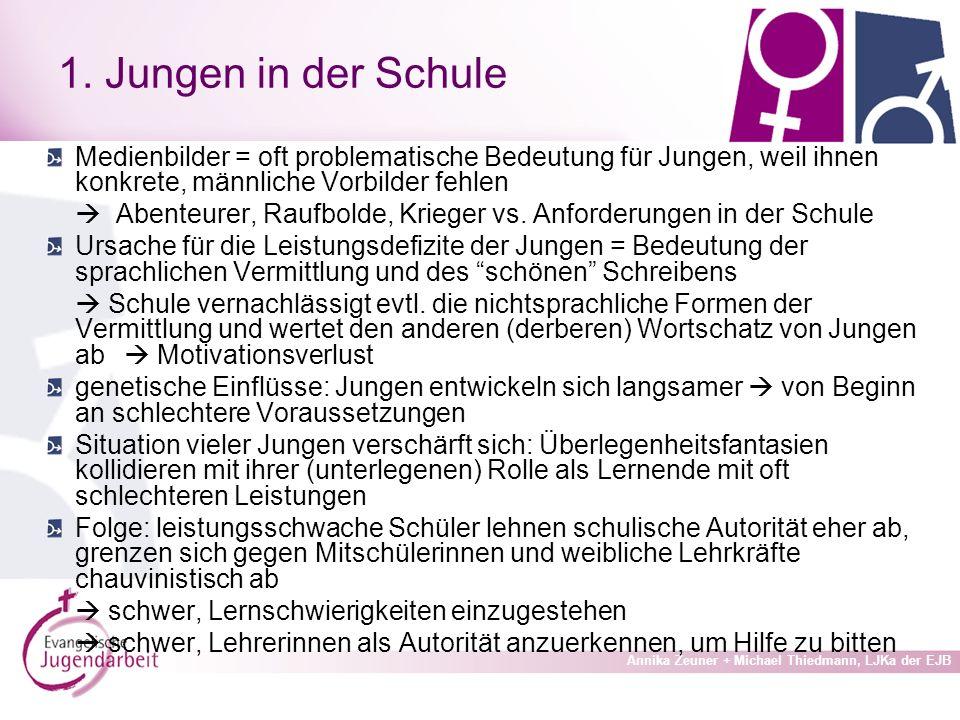 Annika Zeuner + Michael Thiedmann, LJKa der EJB 1.