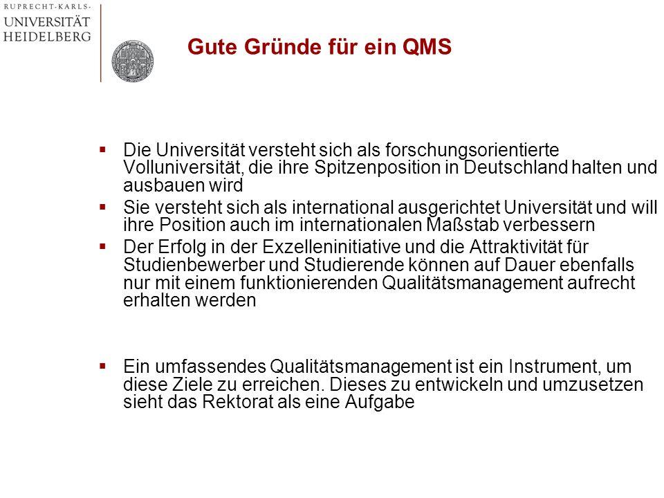 Die Universität versteht sich als forschungsorientierte Volluniversität, die ihre Spitzenposition in Deutschland halten und ausbauen wird Sie versteht