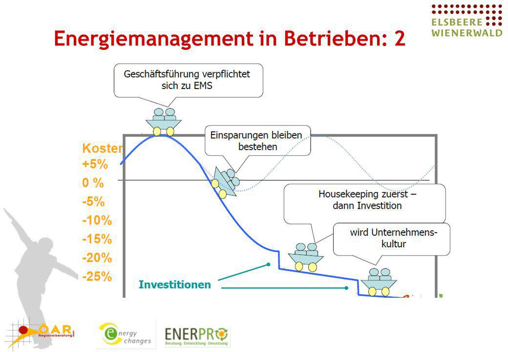 Energiemanagement in Betrieben: 2