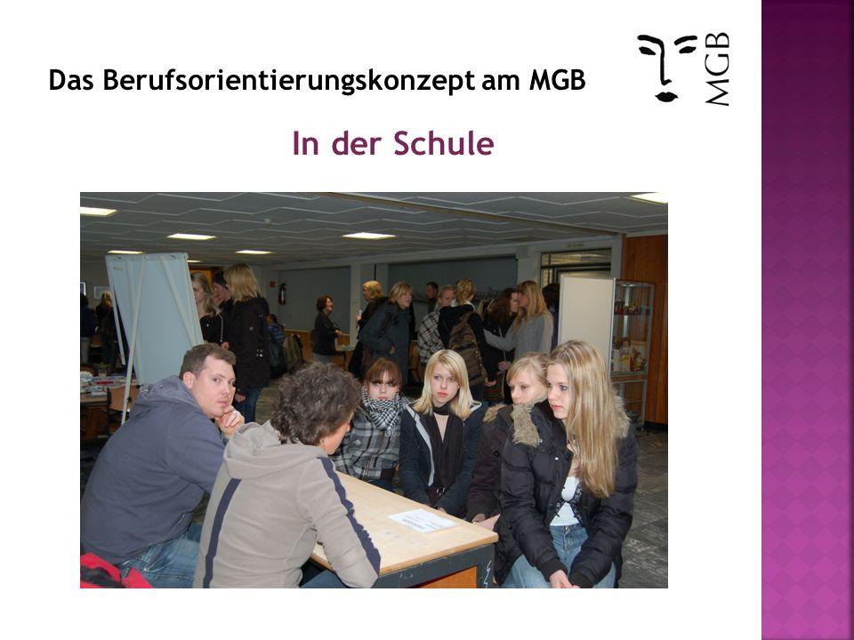 Raus aus der Schule Teilnahme an Unitagen Teilnahme an Projekten und Wettbewerben in Wirtschaft z.B.