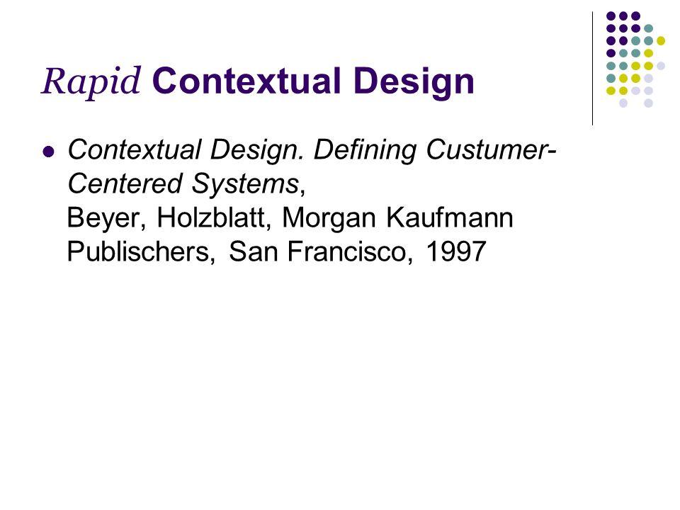 Affinity Diagrams Team Helfer aus den Interpretation Sessions, Designers, Management, Marketing,...