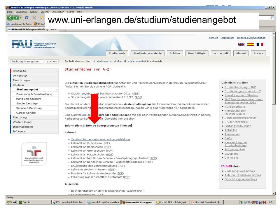 www.uni-erlangen.de/studium/studienangebot
