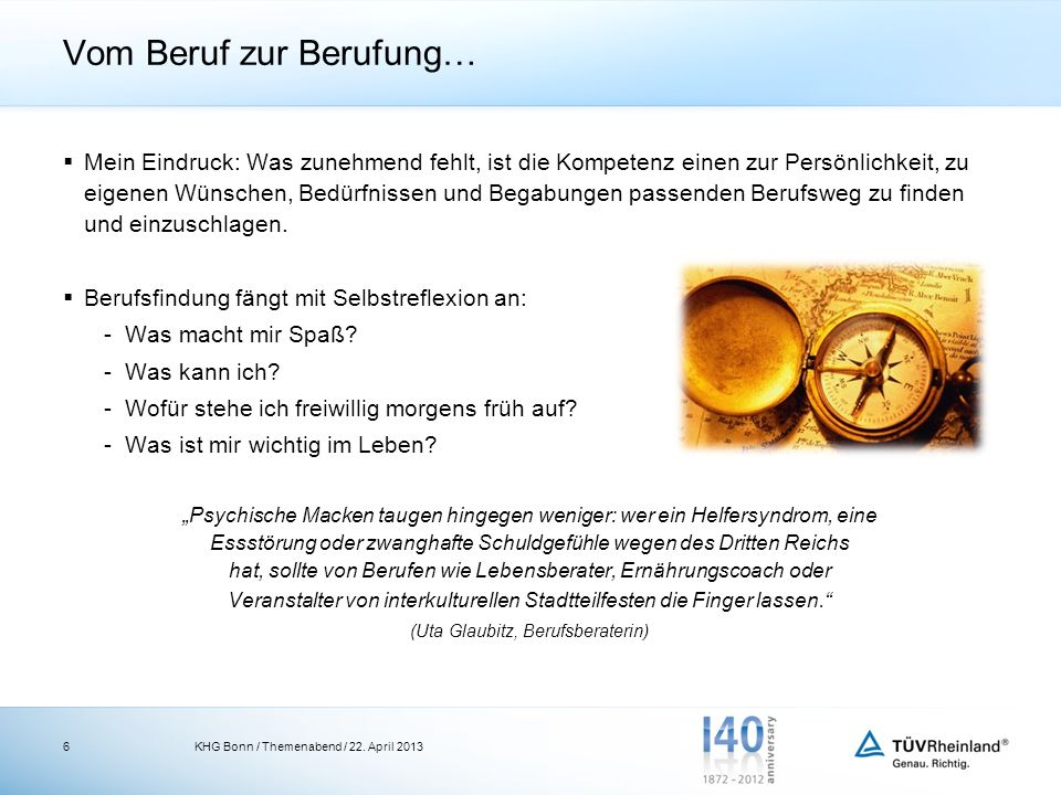 7 Für Rückfragen und weitere Informationen stehen wir Ihnen jederzeit gerne zur Verfügung: TÜV Rheinland Personal GmbH Römerstraße 45-47 53111 Bonn www.tuv.com/hr-development Dr.