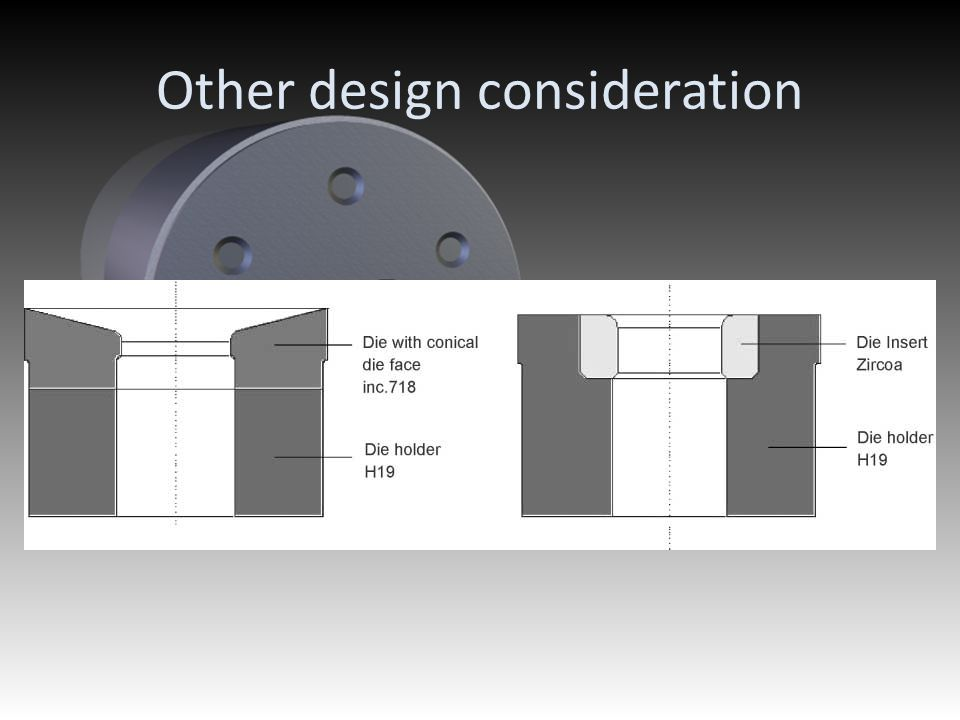 Other design consideration