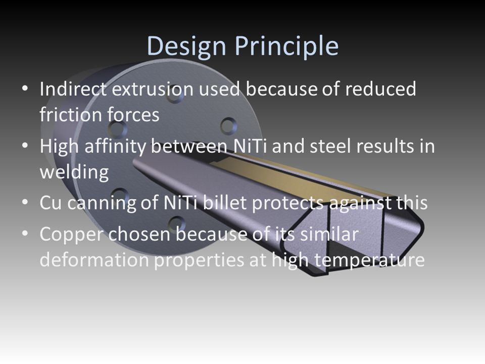 Technical Advancement and industrial impact Innovative solution to shaping NiTi alloys