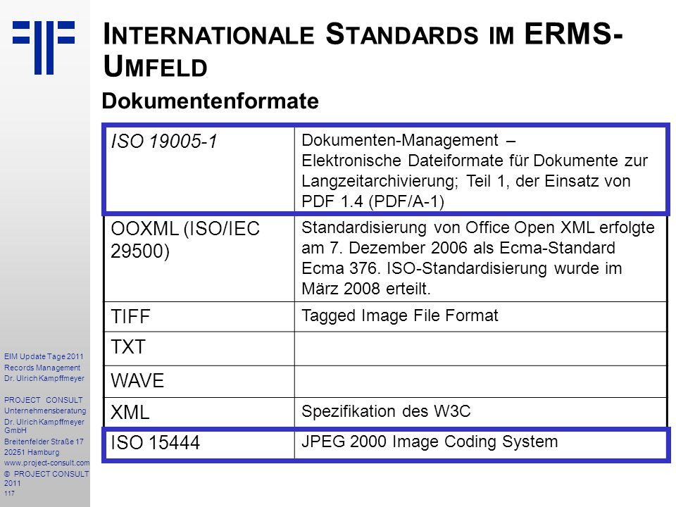 117 EIM Update Tage 2011 Records Management Dr.