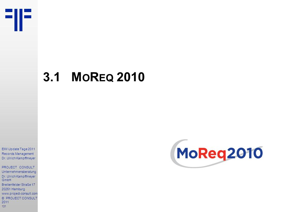 131 EIM Update Tage 2011 Records Management Dr.