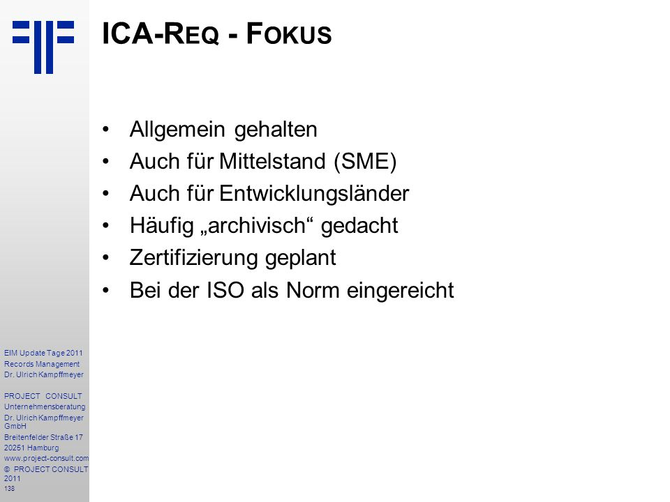 138 EIM Update Tage 2011 Records Management Dr.