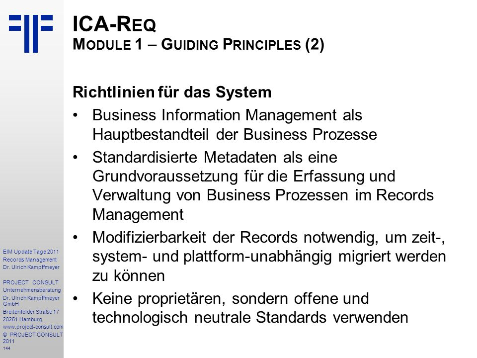 144 EIM Update Tage 2011 Records Management Dr.