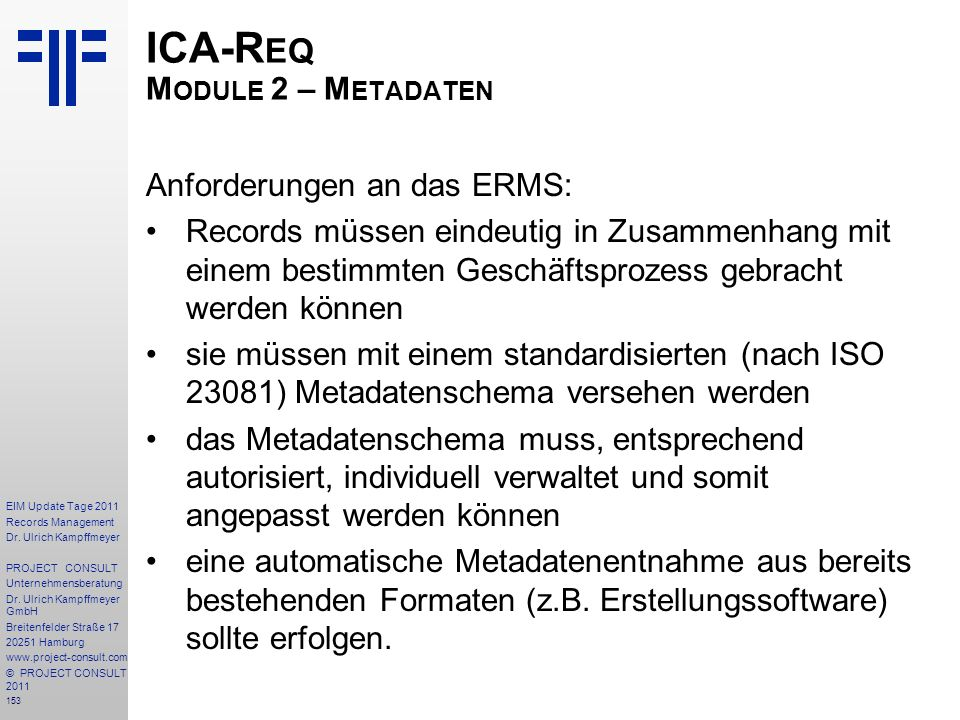 153 EIM Update Tage 2011 Records Management Dr.