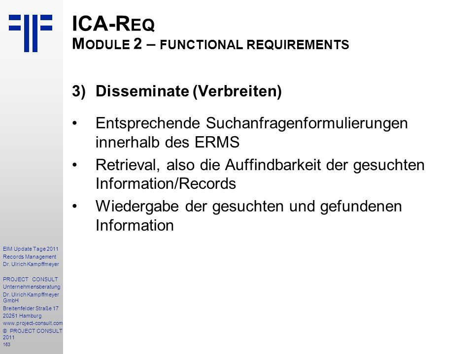 163 EIM Update Tage 2011 Records Management Dr.