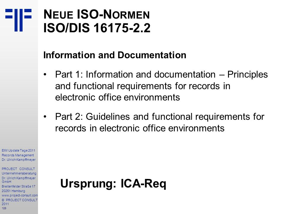 189 EIM Update Tage 2011 Records Management Dr.