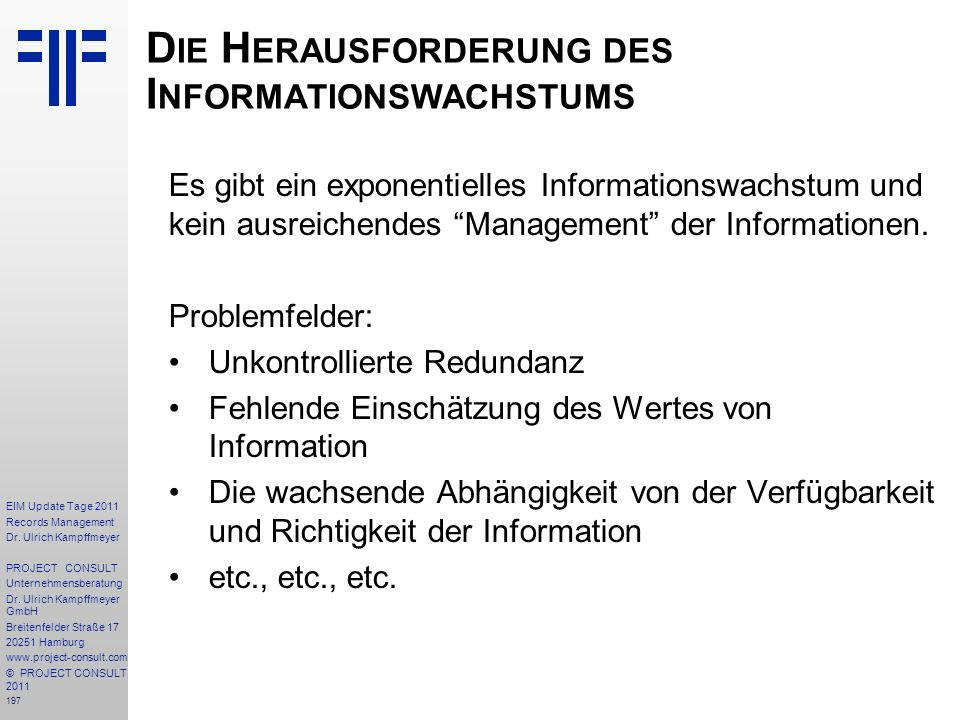 197 EIM Update Tage 2011 Records Management Dr.