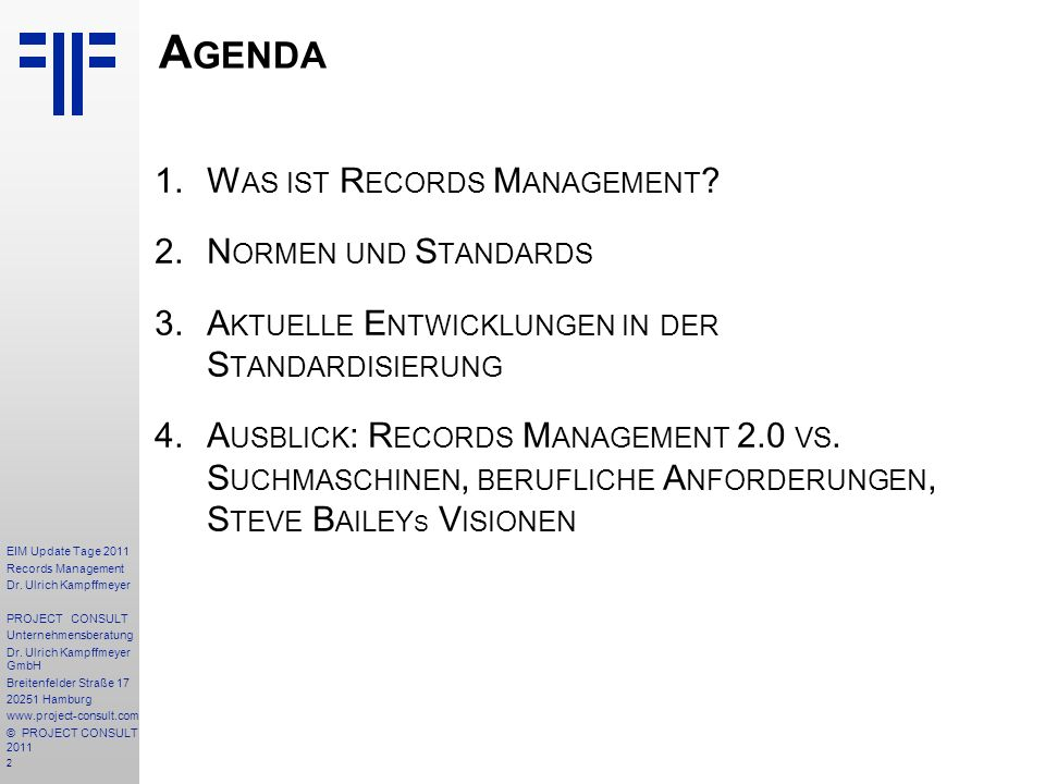 13 EIM Update Tage 2011 Records Management Dr.