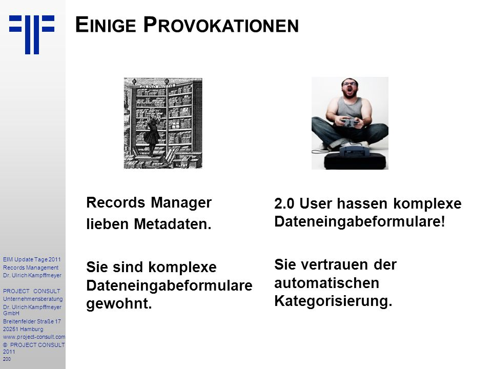 200 EIM Update Tage 2011 Records Management Dr.