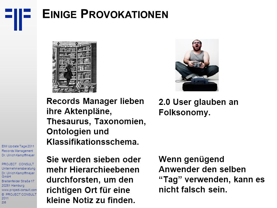 206 EIM Update Tage 2011 Records Management Dr.
