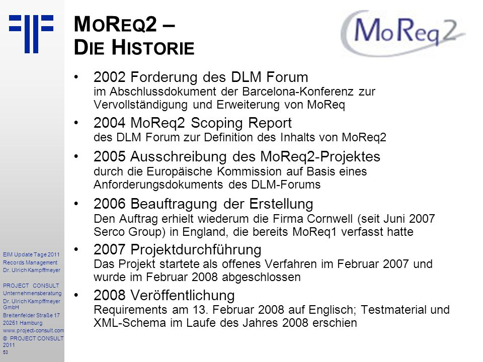 53 EIM Update Tage 2011 Records Management Dr.