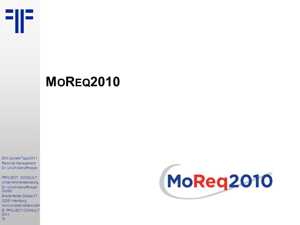 73 EIM Update Tage 2011 Records Management Dr.