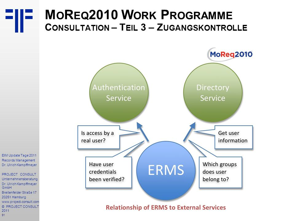 91 EIM Update Tage 2011 Records Management Dr.