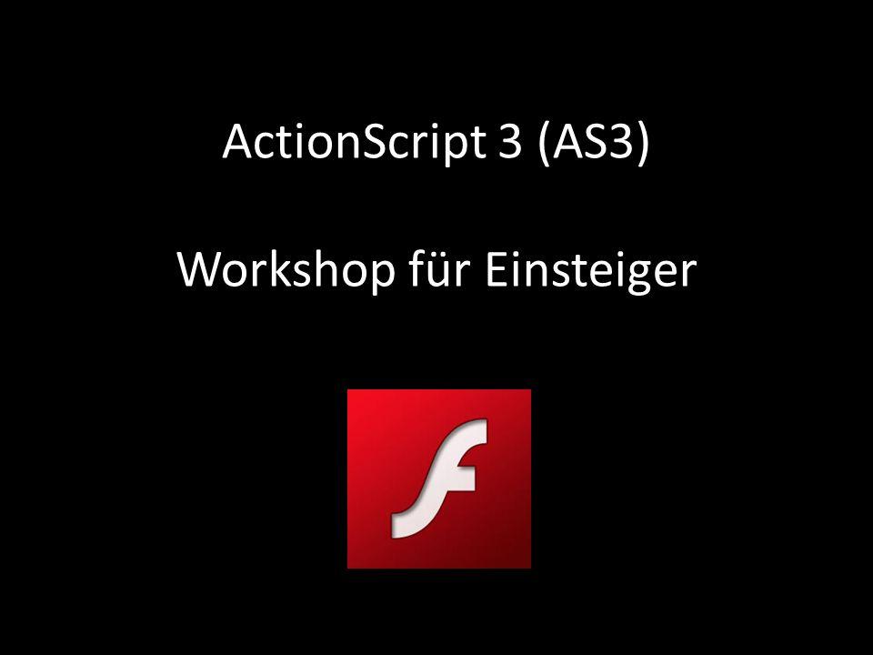ActionScript 3 (AS3) Workshop für Einsteiger