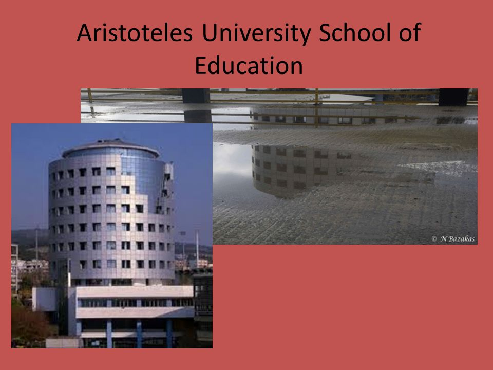 Aristoteles University School of Education