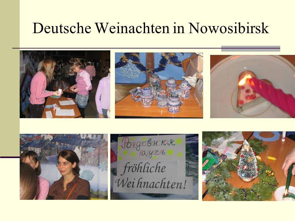 Deutsche Weinachten in Nowosibirsk