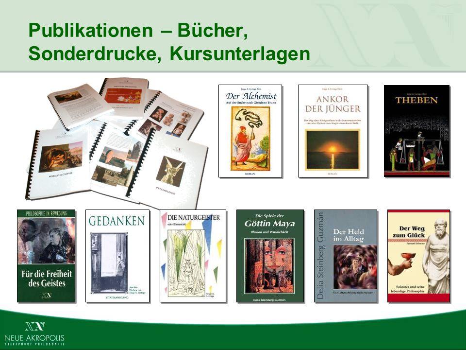 Publikationen – Bücher, Sonderdrucke, Kursunterlagen
