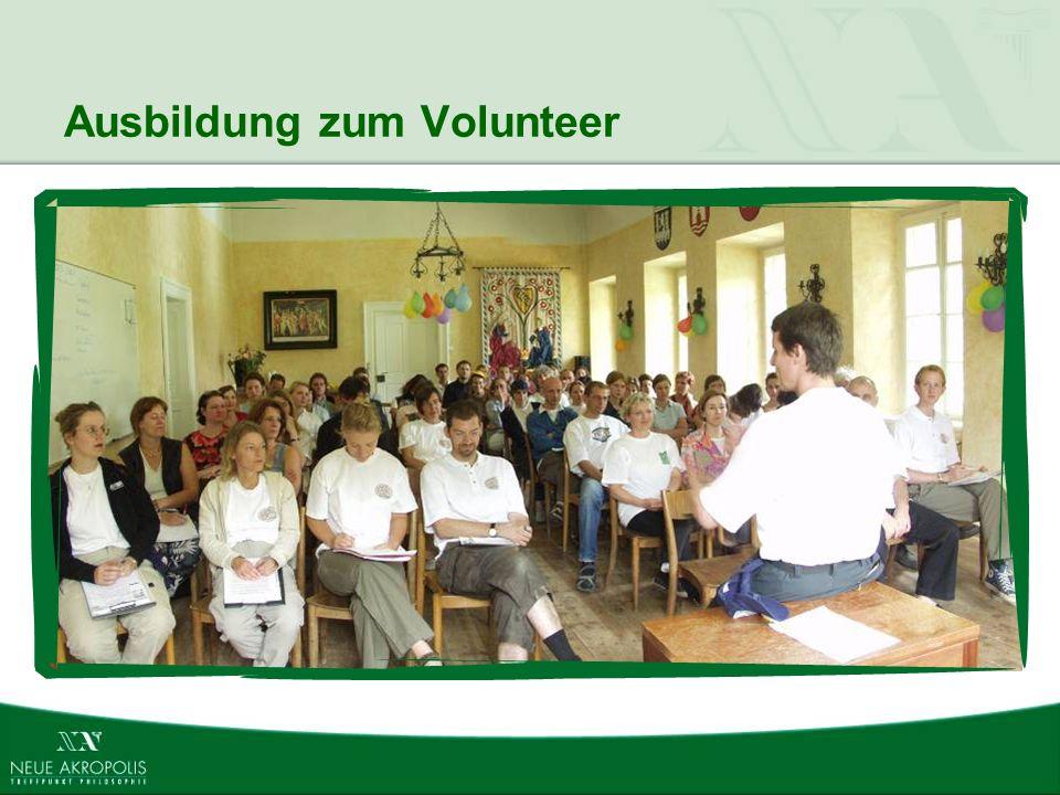 Ausbildung zum Volunteer
