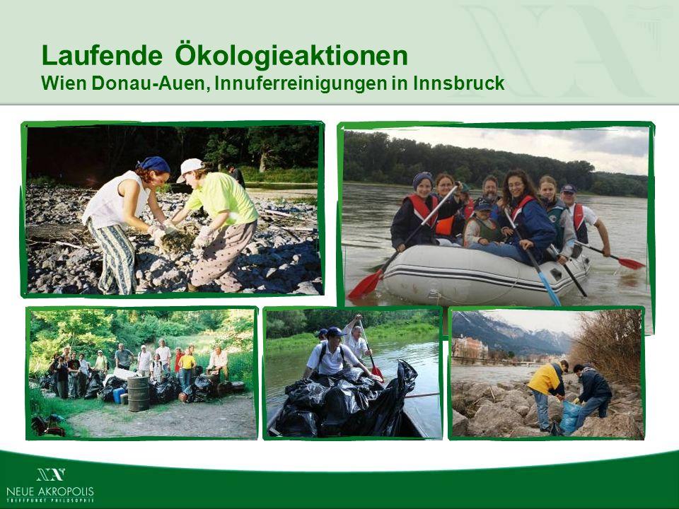 Laufende Ökologieaktionen Wien Donau-Auen, Innuferreinigungen in Innsbruck