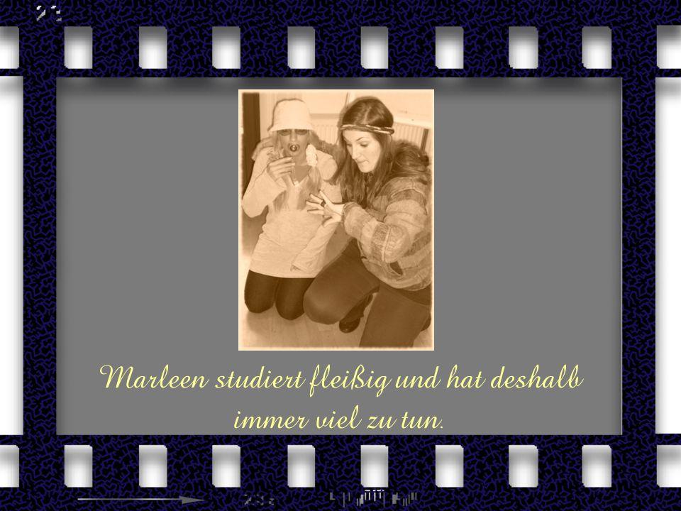 Das ist die Heldin unserer Geschichte, Marleen, und ihr kleines Töchterchen Lucy.