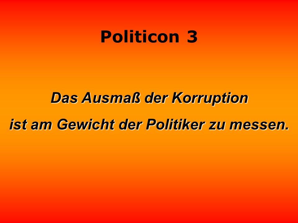 Politicon 3 Danken fällt Politikern schwer, besonders das Abdanken. Ron Kritzfeld