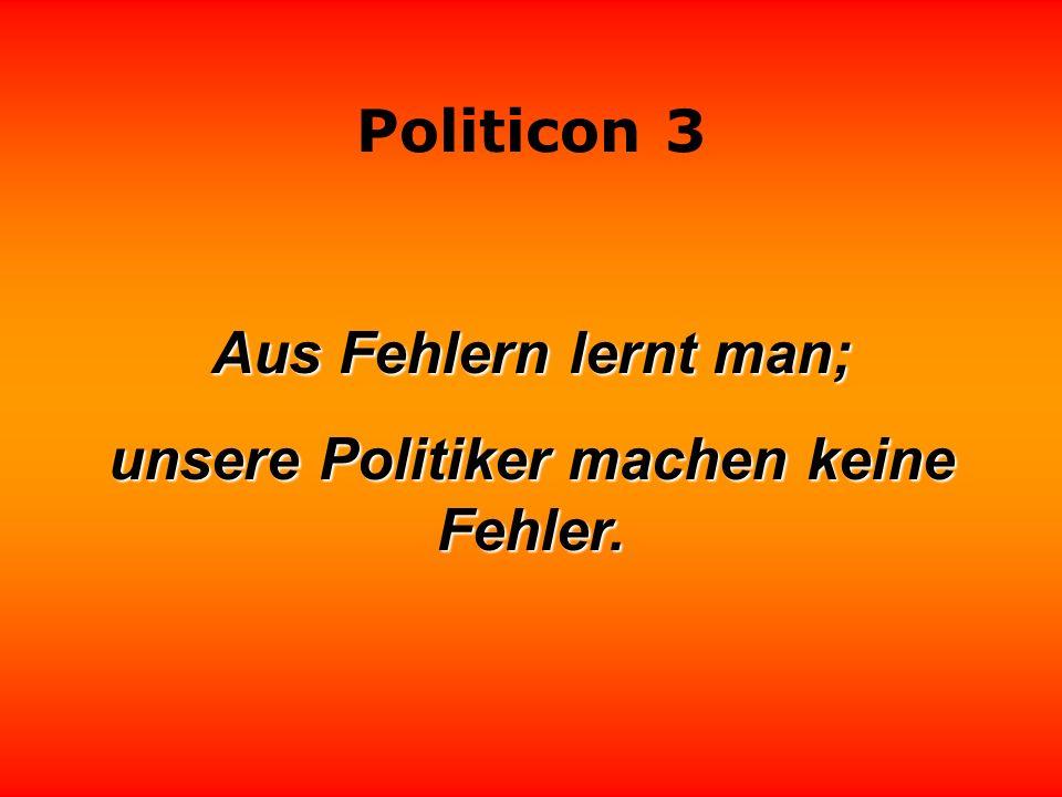 Politicon 3 Angenommen, es gäbe wirklich eine Demokratie - was machten wir dann mit den Politikern? Heinz Gernhold