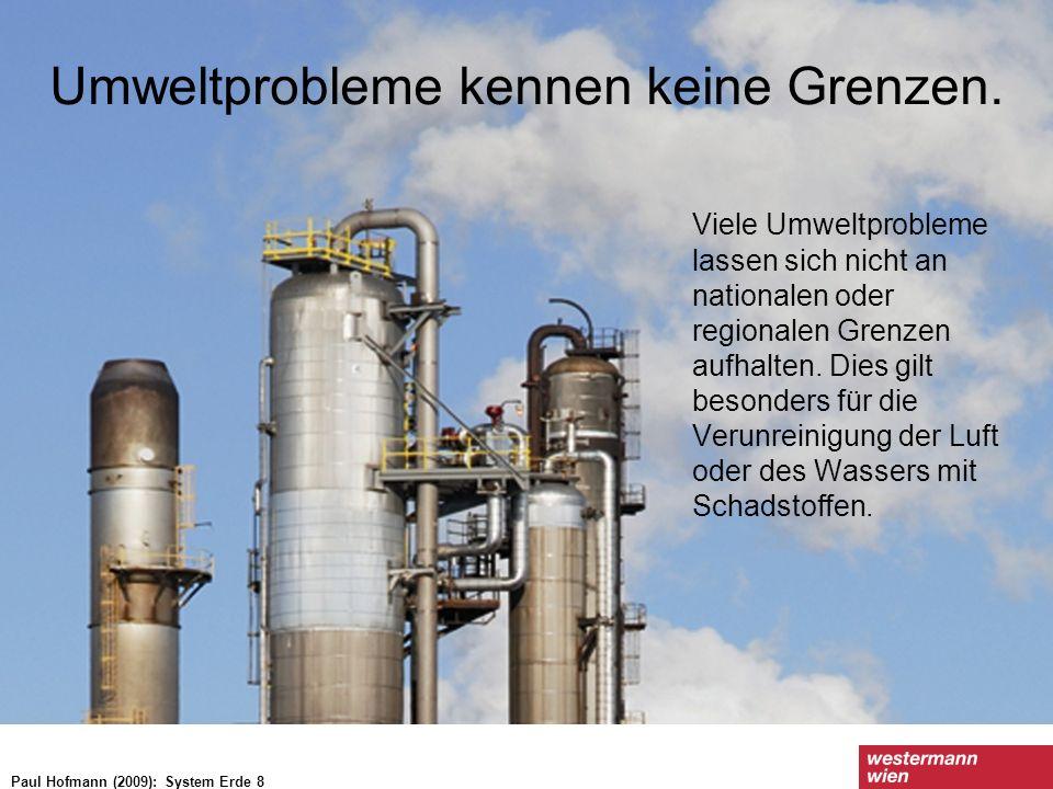 Wachstumstrends der wichtigsten Treibhausgase seit den 1970er-Jahren Paul Hofmann (2009): System Erde 8
