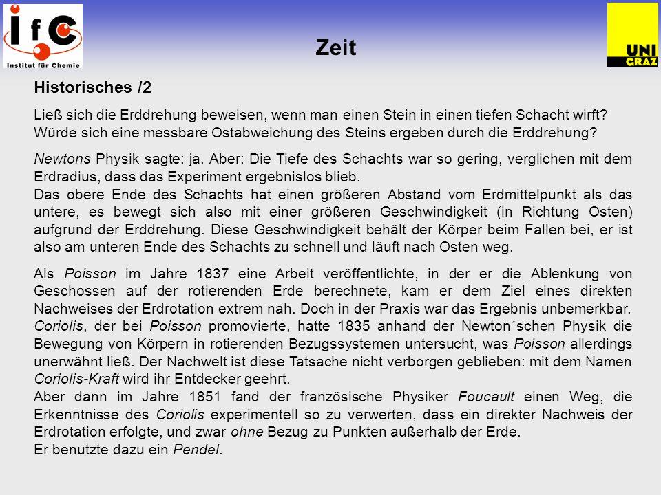 Zeit - Pendel Allgemeines zu Pendeln Was ist eigentlich ein Pendel.