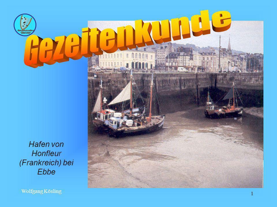 Wolfgang Kösling 1 Hafen von Honfleur (Frankreich) bei Ebbe