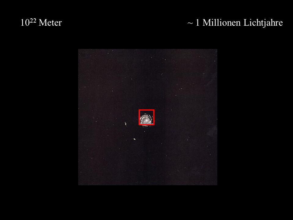 ~ 1 Millionen Lichtjahre10 22 Meter