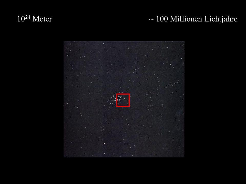 ~ 100 Millionen Lichtjahre10 24 Meter