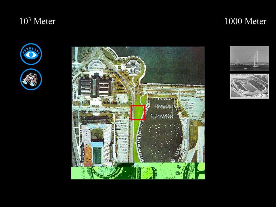 0,1 Millimeter 10 -4 Meter 0,0001 Meter Stark vergrößerte Aufnahme einer Hautfalte