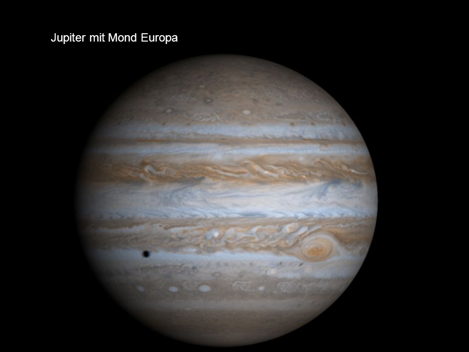 Jupiter mit Mond Europa