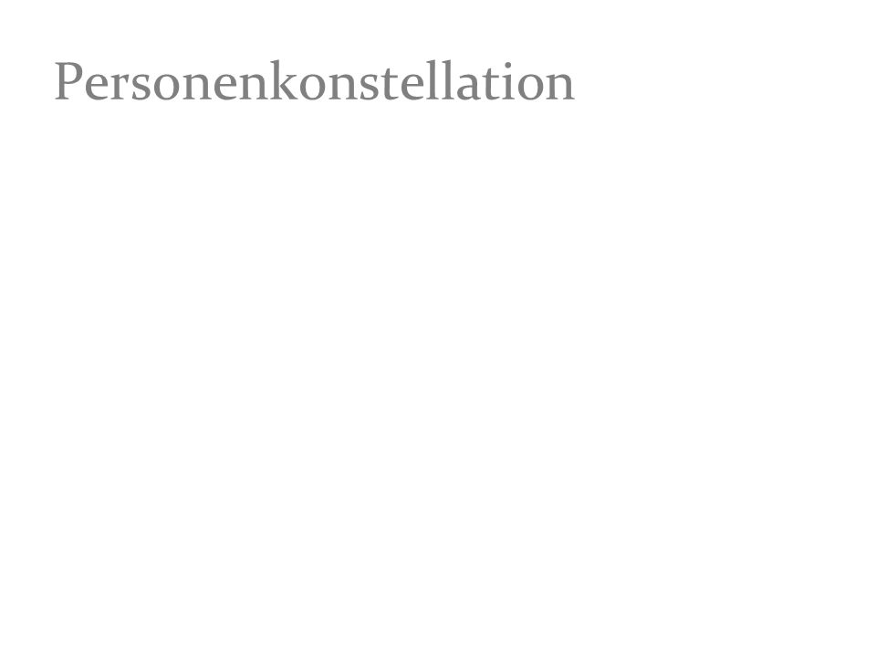 Personenkonstellation