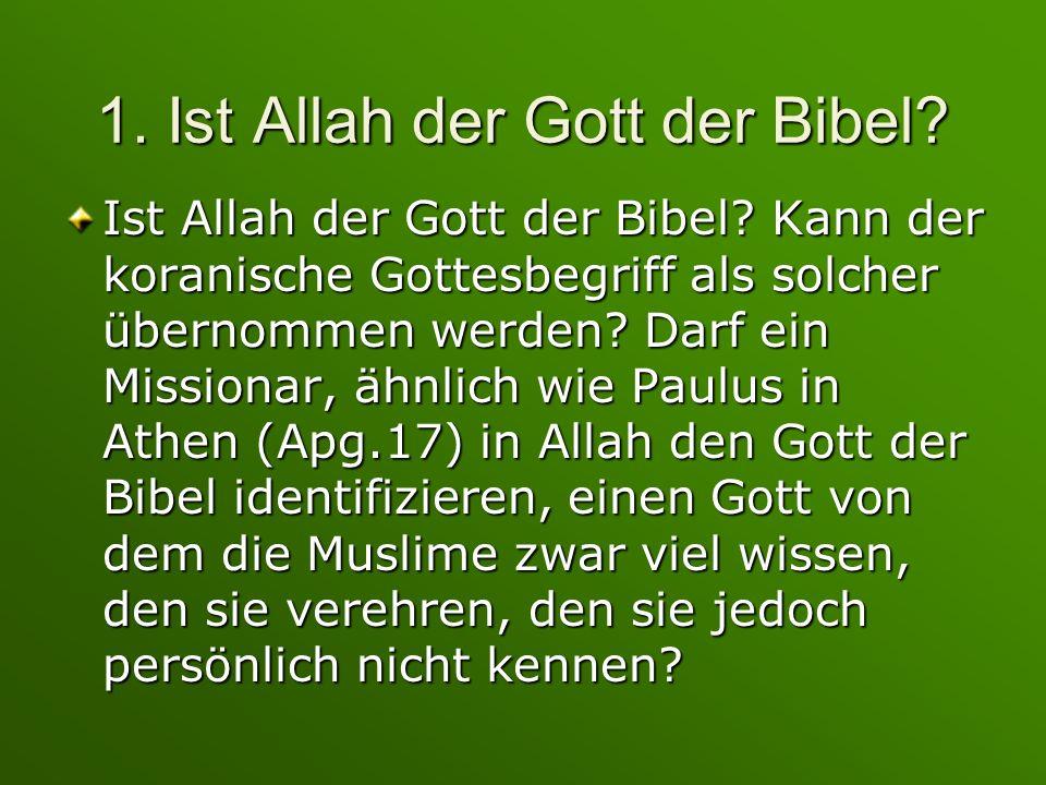 5.Dürfen Christen zu Allah beten. Sie beten schon – hat das geschadet.