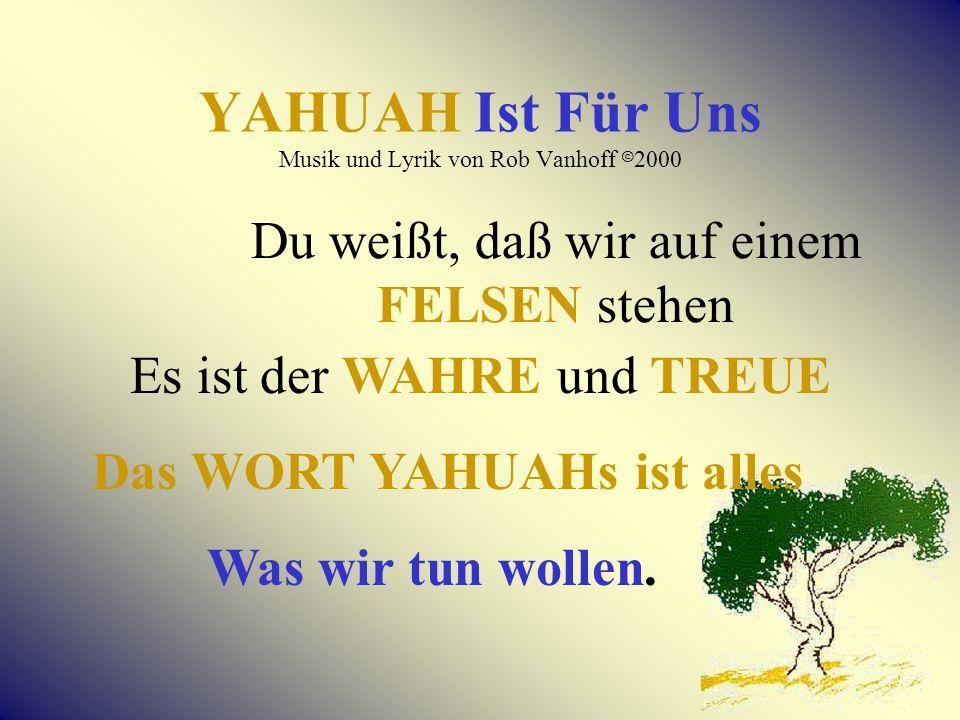 Das ist erst der Anfang… Mit YAHUAHS wiederhergestelltem Namen in den Schriften… Die WAHRHEIT IST JETZT darin!
