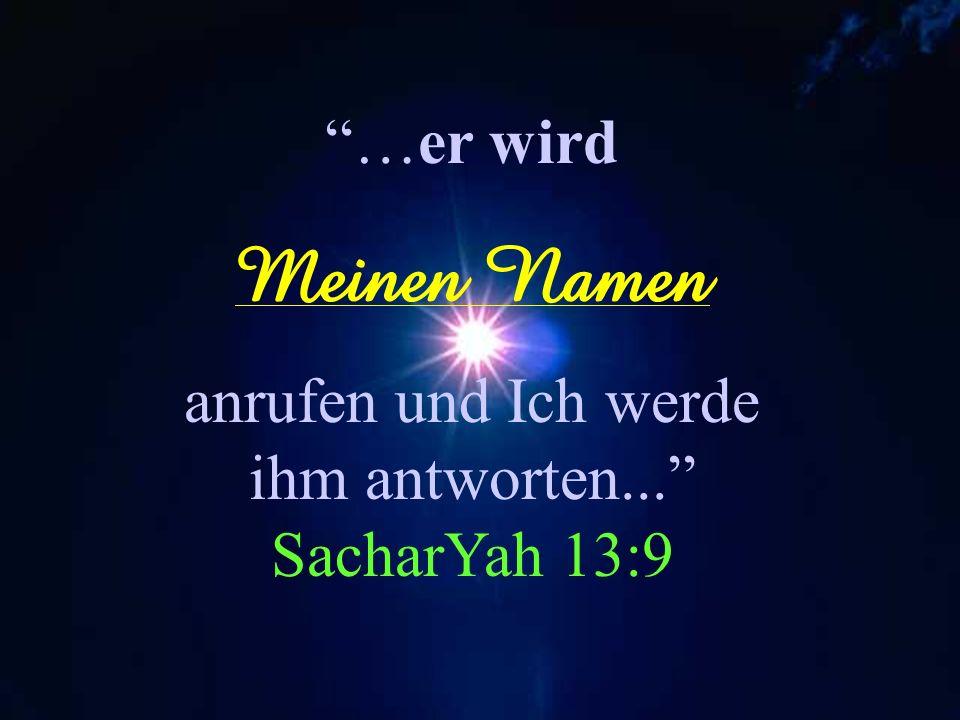 Und ihr werdet sagen zu der Zeit: Danket YAHUAH, rufet an Seinen NAME! Machet kund unter den Völkern sein Tun, verkündiget, wie sein NAME so hoch ist!