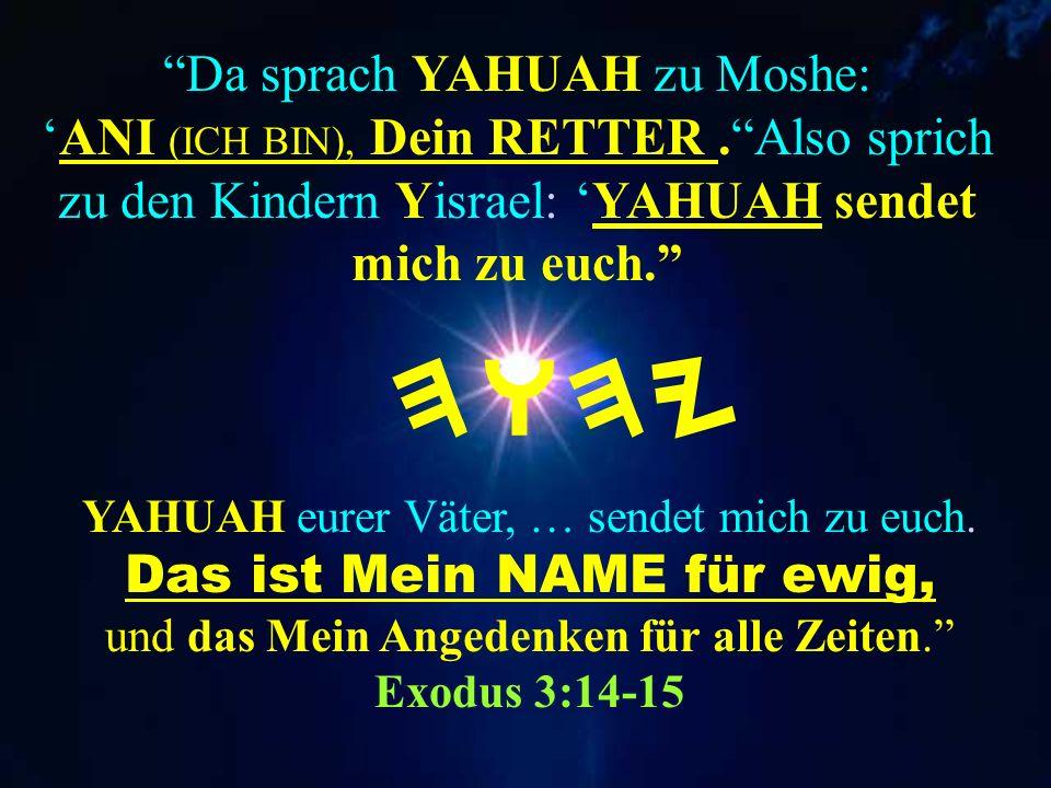 Bedenke dies: der Feind lästert HWHY und niederträchtiges Volk höhnet Seinen Namen. Tehillim (Psalm.) 74:18