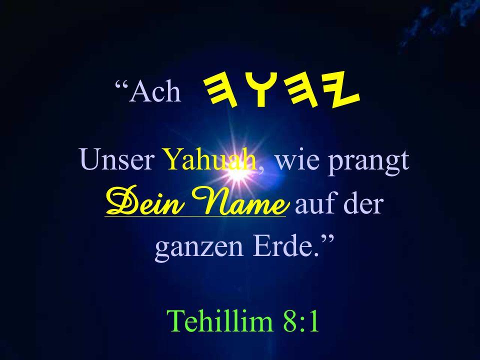 Vertrauet auf HWHY Ist ein ewiger Hort. YesaYah 26:4 HWHY Denn in YAH