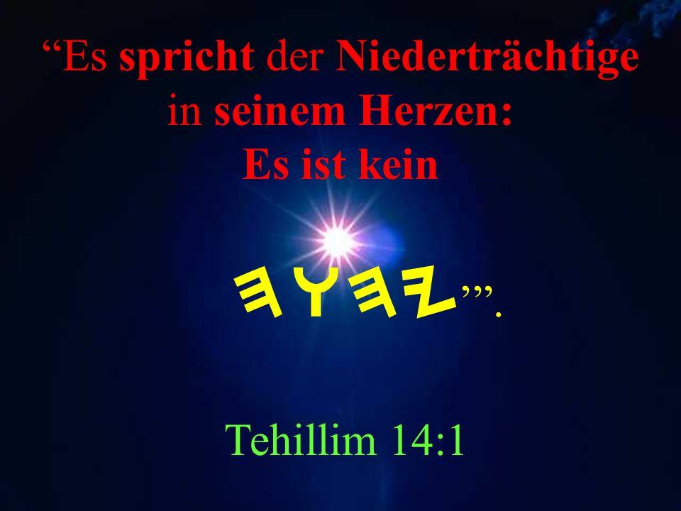 Diesen Tag hat geschaffen HWHY lasset uns jubeln und uns freuen an ihm. Tehillim 118:24