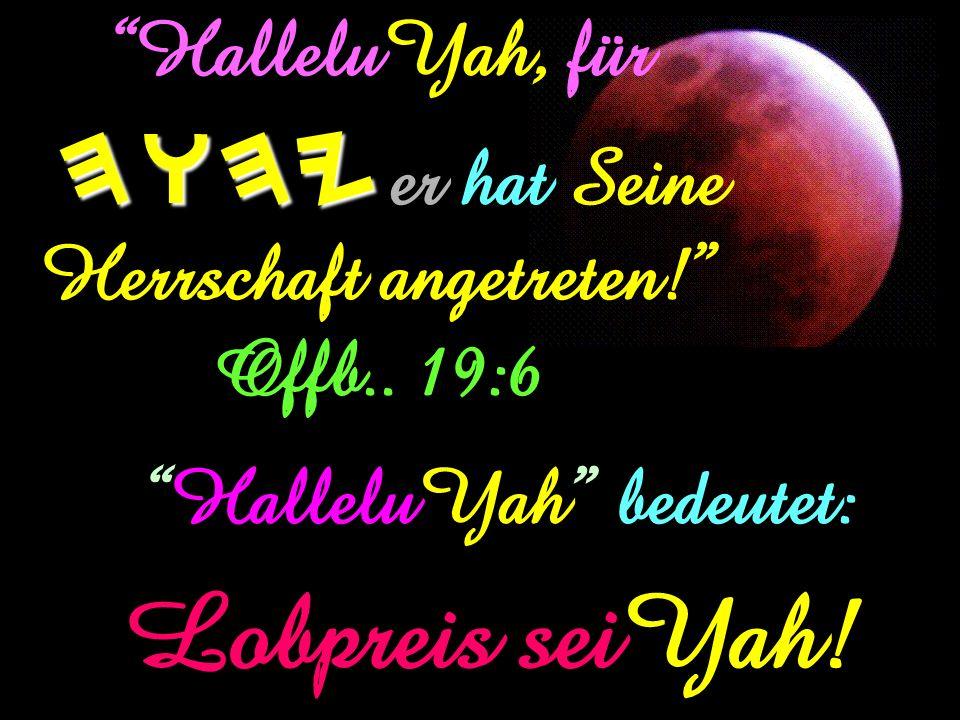 Ich war im Geist am Tag von Yahuah. Offenbarung 1:10 NEIN! Es war…